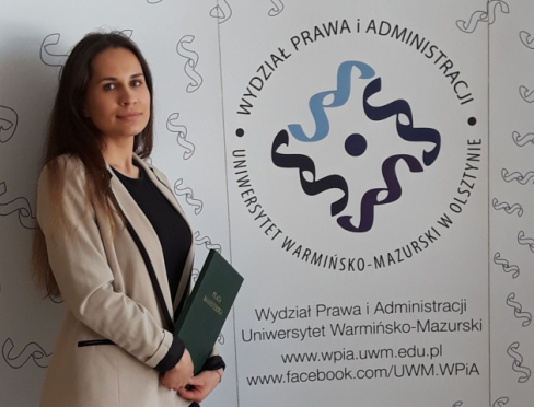 Dorota Dec-Kordek - absolwentka Administracji WPiA UWM
